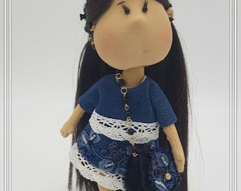 doll toys handmade  doll for the game you can remove clothes natural material Hands and feet are moving doll for children