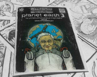 Planet Earth 3 art book with David Attenborough