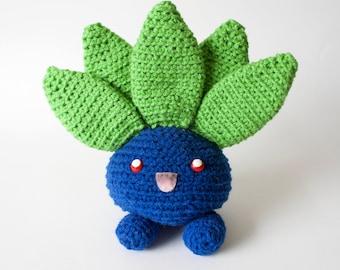 Crochet Oddish Plush