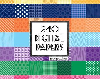 Digitales Papier Bundle, digitales Papier Verkauf, sofortiger Download, kommerzielle Nutzung