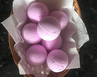 Cotton candy bath bomb x1