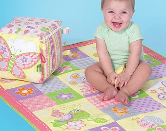 McCall's Pattern M7372 Nursery Blanket, Pillow and Organization Accessories