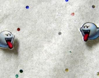 Nintendo Boo Stud Earrings