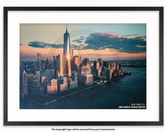 New York City - One World Trade Centre Poster