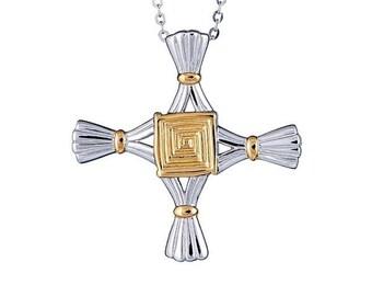St. Brigid Cross Necklace - 062249