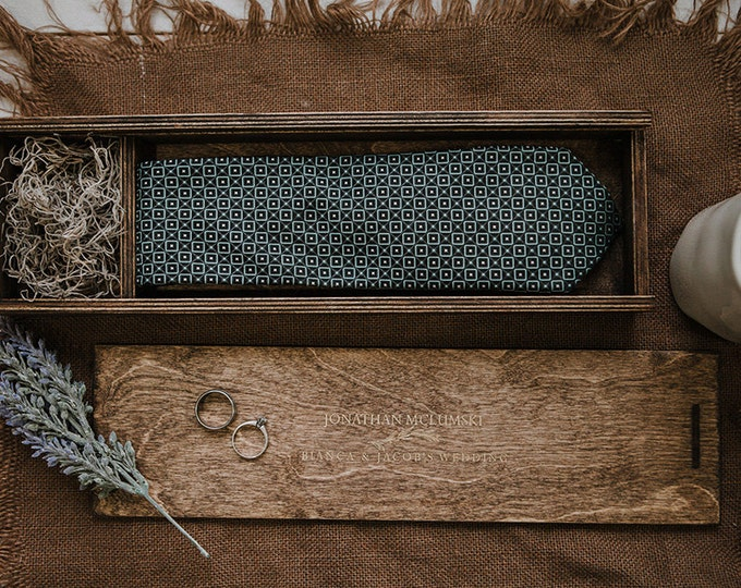 Wood Tie Box