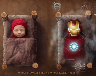 Ironman what mummy sees what daddy sees