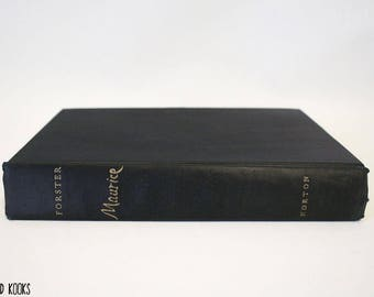 Maurice by E.M. Forster (W.W. Norton & Company Inc. 1971, Hardcover, First Edition, 3rd Printing, Missing the dustjacket)