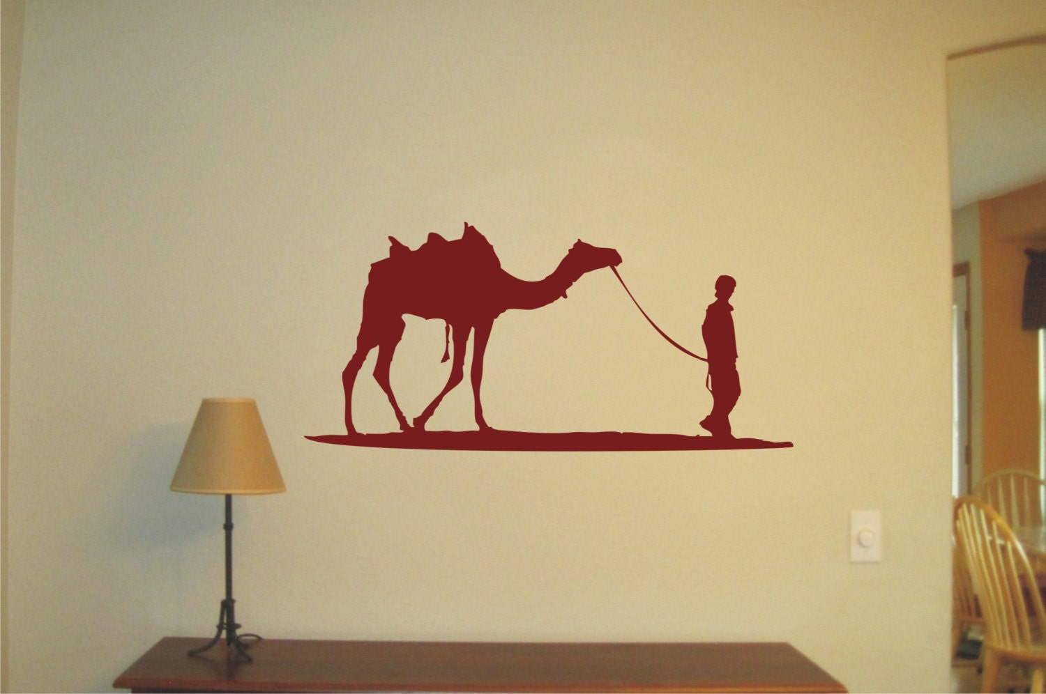and Camel Wall Sticker Vinyl Decal Wall Tattoo