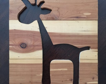 Made to Order Handmade Wooden Animal Artwork