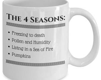 The Real 4 Seasons Mug