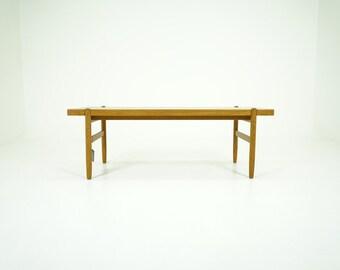 310-118 Oak Coffee Table Danish Mid Century Modern