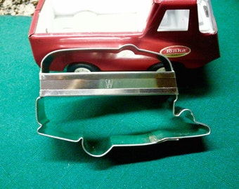 Camper Cookie Cutter Metal  With Custom Handle By West Tinworks