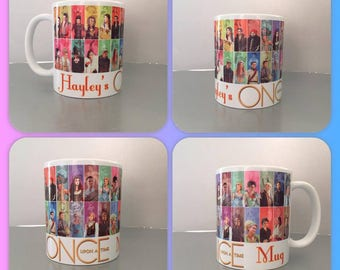 personalised mug cup once upon a time netflix regina emma swan henry evil queen prince charming snow white ouat