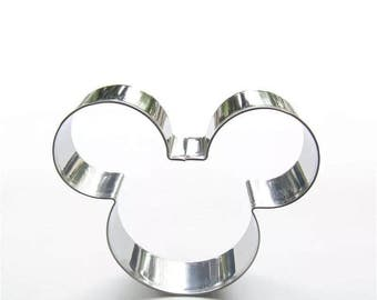 3.5 inches Large Mickey Mouse Cookie Cutter for Pastry, Fondant, Gumpaste, DIY