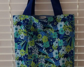 Large Tote Bag with Pocket