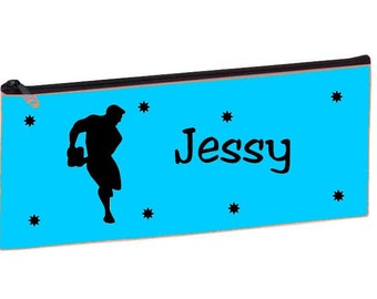 Personalized with name rugby player blue Kit