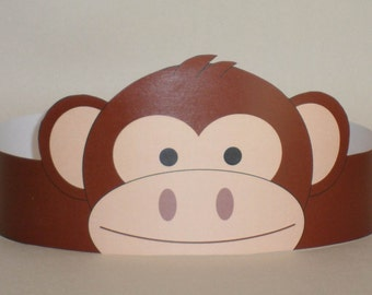Monkey Crown - Printable