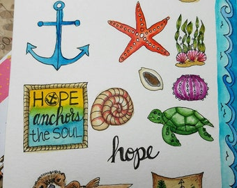 Jesus is my Hope - Stickers only