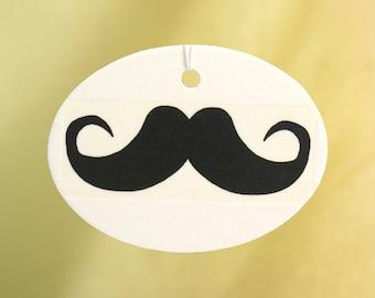 Moustache Car Air Freshener, Black