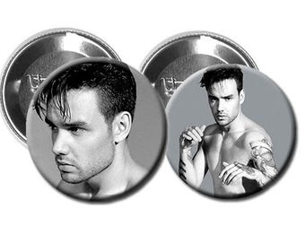 "LIAM PAYNE  - Pinback Button/Badge Pack (1.25"") - Magazine Shoot 2017 / One Direction"