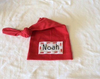 Personalized baby hat-newborn name hat-Baby beanie .- Baby Knot Hat Name *Read Description  *  FREE SHIPPING