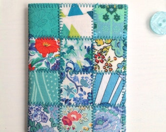Patchwork Needlecase made from Liberty of London tana lawn