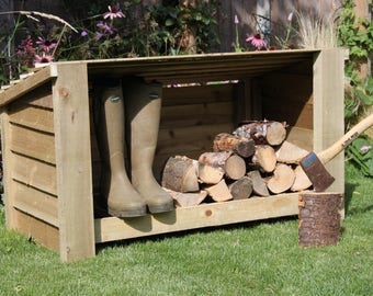 Deben Short High Quality Hand Made Boot/Log Store