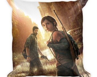 The Last of Us Joel and Ellie Pillow