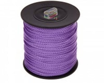 Thread polyester 1.5 mm - purple color