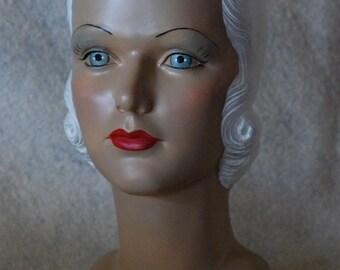 mannequin head Jean Harlow