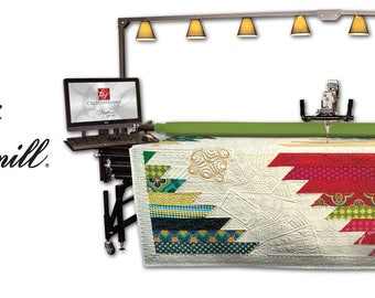 Gammill Longarm Statler Stitcher complete retrofit for computerized quilting