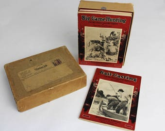 Vintage Outdoor LIfe Recreation Library Book Set