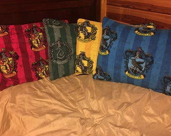 Hogwarts House Pillow Shams