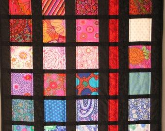 Kaffe Fassett fabrics way patchwork