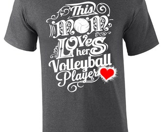 2016 Volleyball Mom - Volleyball T-shirt