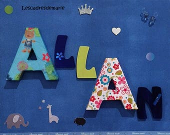 Personalized baby's room decoration