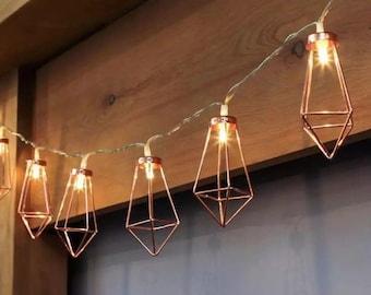 Fairy Lights Metal String Light Battery Operated fairy lights metal string lights