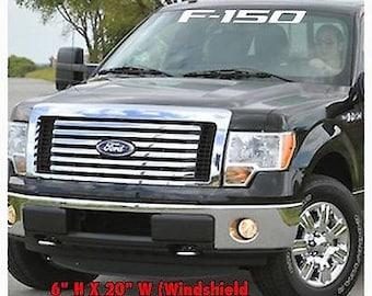 1950-2017 Ford F150 Truck Windshield Body Decal Sticker New Custom 1PC