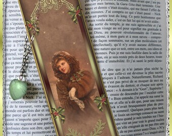 "Bookmarks laminated ""Christmas past"""