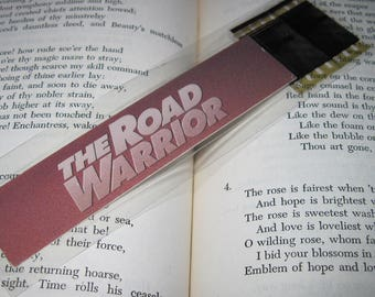 Mad Max Bookmark - Recycled VHS - The Road Warrior