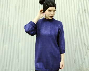 Metallic Purple Sweater