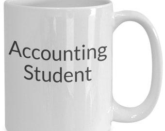 Accounting student mug