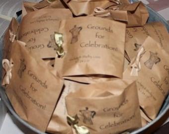 Coffee Bag Wedding Favors