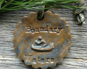 Boundary Waters Holiday Ornament