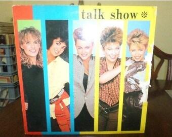 Vintage 1984 Vinyl LP Record Talk Show The Go Go's Excellent Condition 6699