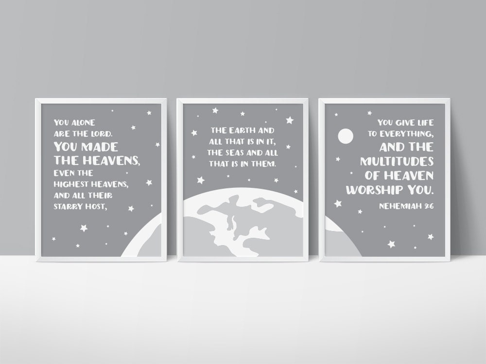 space themed nursery star printable art you made the. Black Bedroom Furniture Sets. Home Design Ideas