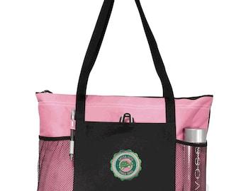 Delta Zeta Venture Emblem Tote Bag