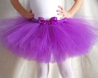 Purple Tutu | Birthday Party Tutu | Violet Tutu | Party Tutu | Girls Tutu Skirt | Birthday Outfit | Princess Tutu | Costume Tutu