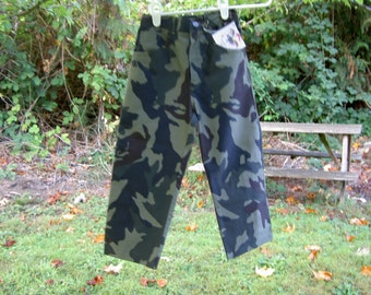 Camo Jeans in 4T